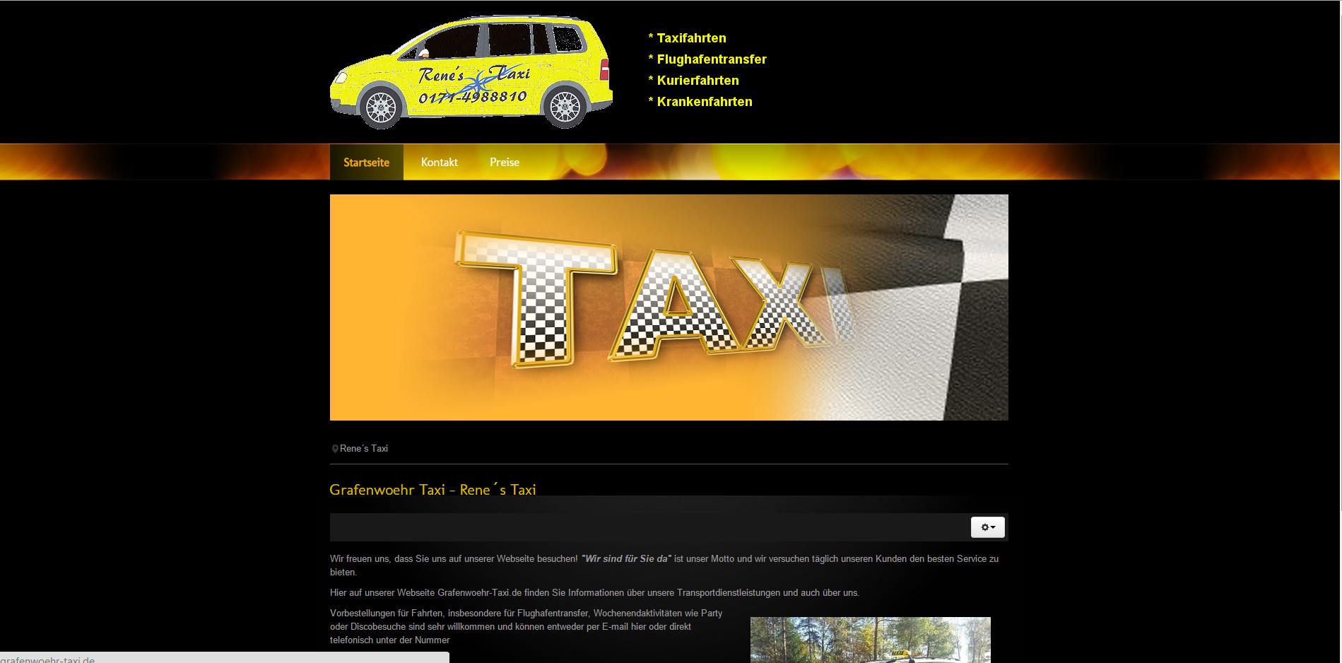 Homepage - Rene`s TAXI